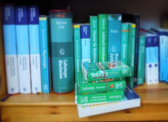 medizin lehrbücher erstes semester